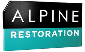Alpine Restoration Retina Logo